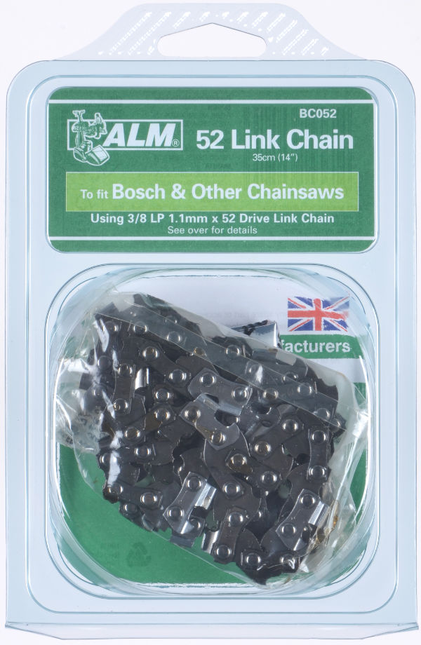 "Chainsaw Lo-Kick Chain for 35cm (14"") bar and 52 Links"