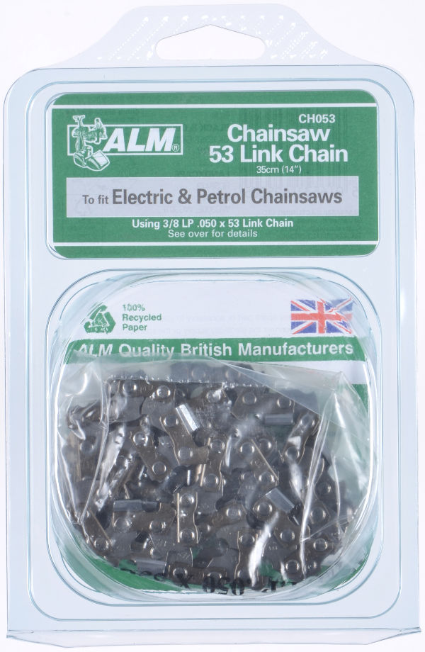 "Chainsaw Chain for saws with 35cm (14"") bar and 53 drive links"