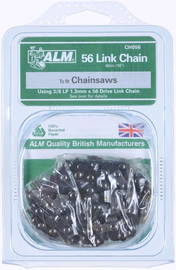 "Chainsaw Chain with 56 Drive Links for 40cm (16"") bar"