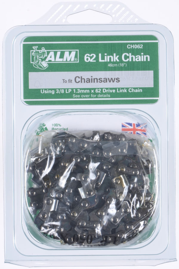"Chainsaw chain - 62 Drive Links for 46cm (18"") bar"