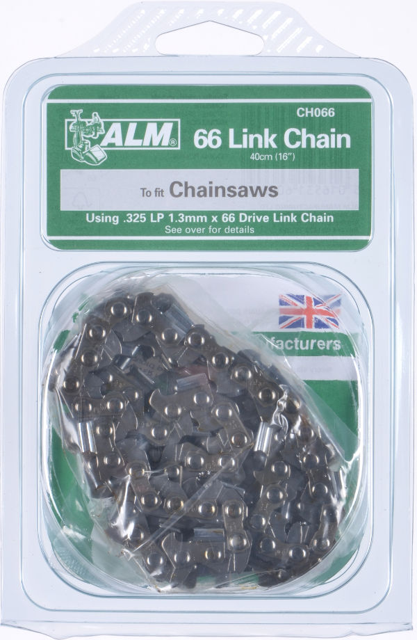 "Chainsaw Chain for 40cm (16"") bar - 66 Drive Links"