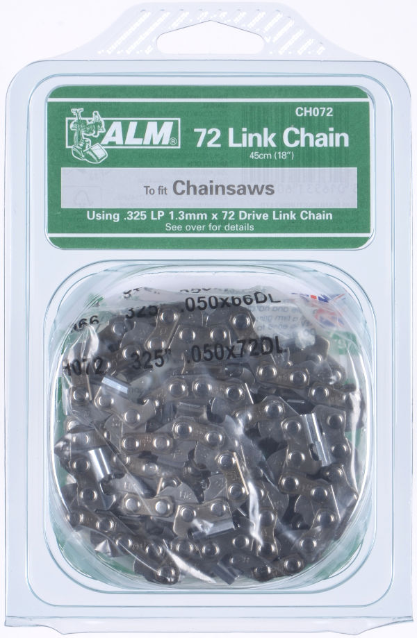 "Chainsaw Chain for 45cm (18"") bar with 72 Drive Links"